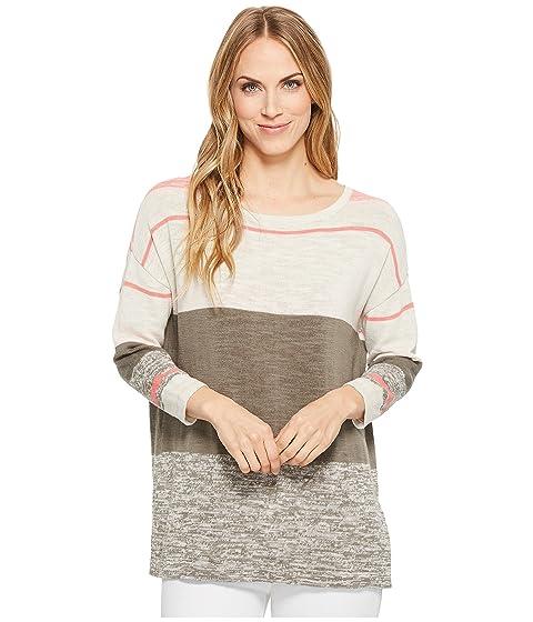 Stripe Sweater Tribal Sleeve Tribal Long Long fwRqfI4