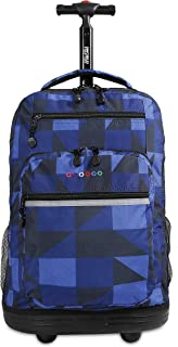 J World New York Sundance Laptop Rolling Backpack