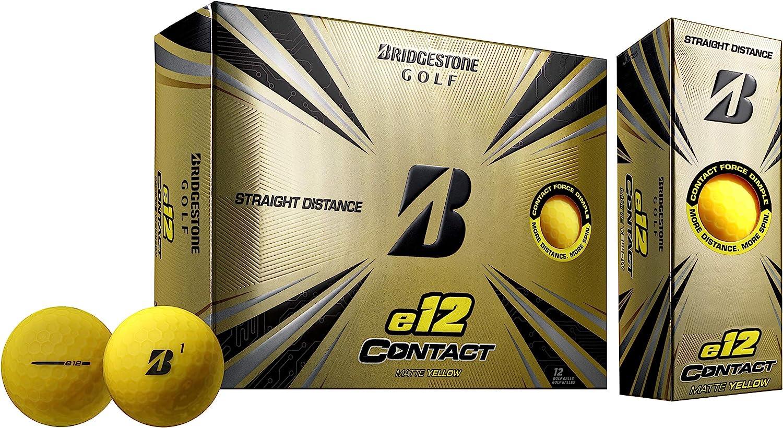 Bridgestone Golf e12 Contact Golf Balls (One Dozen)