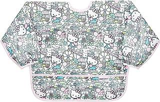 Bumkins Hello Kitty Sleeved Bib/Baby Bib/Toddler Bib/Smock, Waterproof, Washable, Stain & Odor Resistant, 6-24 Months