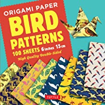 Origami Paper - Bird Patterns - 6 inch (15 cm) - 100 sheets: Tuttle Origami Paper: High-Quality Origami Sheets Printed wit...