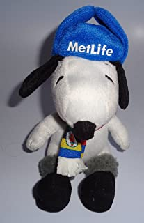 Metlife Exclusive Collectible Snoopy Plush Doll 2014 Sochi Winter Olympics