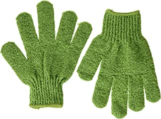 The Body Shop Bath Gloves Green with Loop
