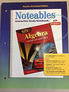Noteables: Interactive Study Notebook with Foldables, Teacher Edition