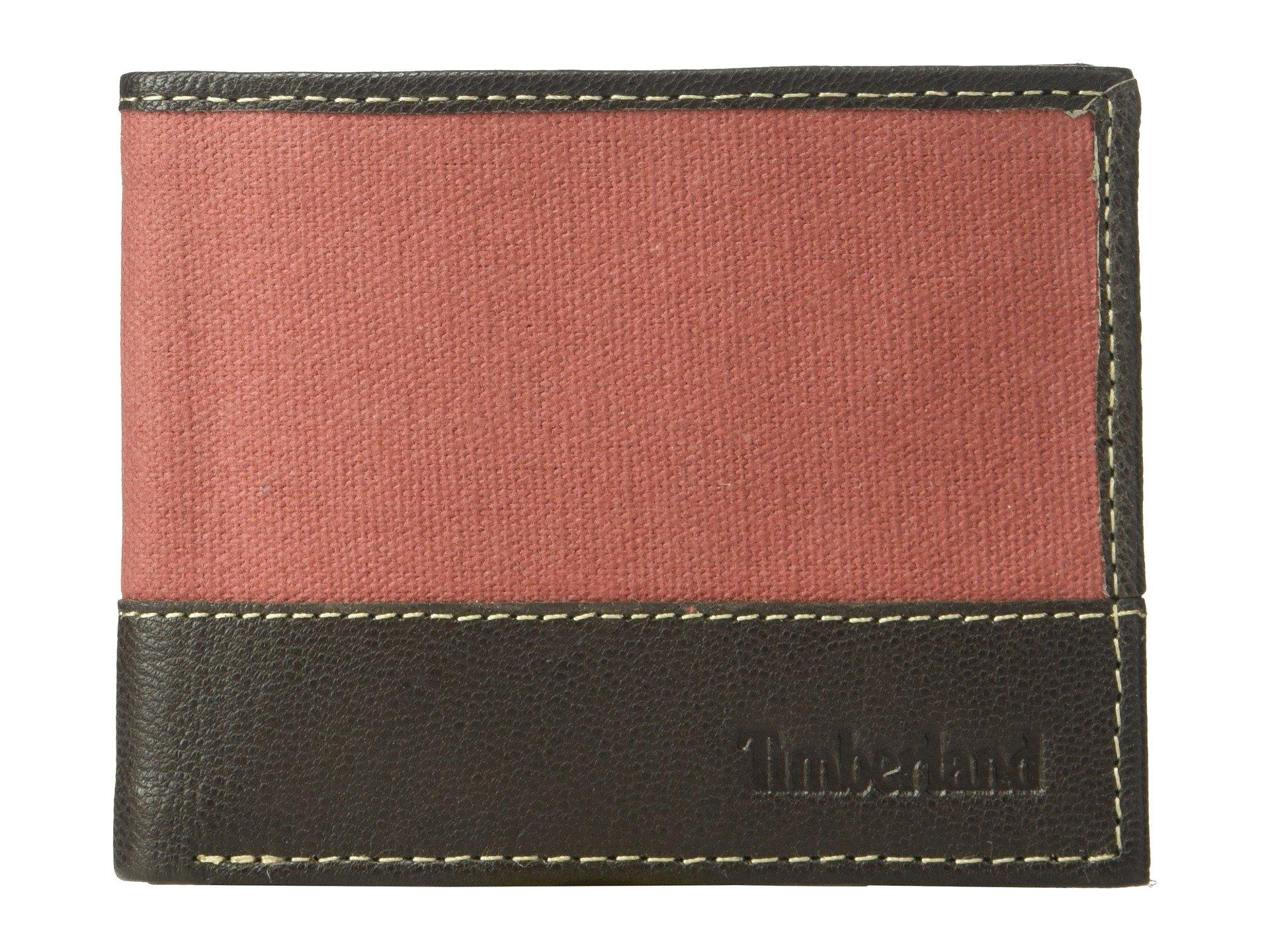 Billetera para Hombre Timberland Canvas andamp; Leather Billfold Set  + Timberland en VeoyCompro.net