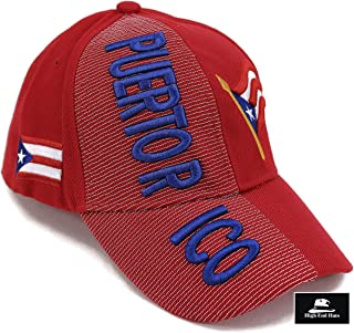 """Nations of North America Hat Collection"" 3D Embroidered Adjustable Baseball Cap Includes 1-Year Warranty"