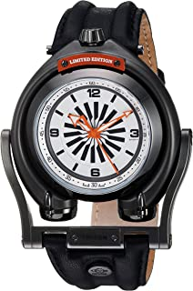 Gevril - Reloj analógico para Hombres de con Correa en Piel 3404
