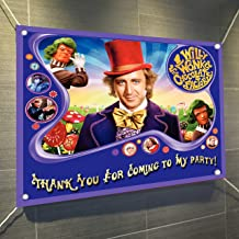 Chocolate Factory Banner Large Vinyl Indoor or Outdoor Banner Sign Poster Backdrop, party favor decoration, 30