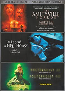 The Amityville Horror / The Legend of Hell House / Poltergeist II / Poltergeist III
