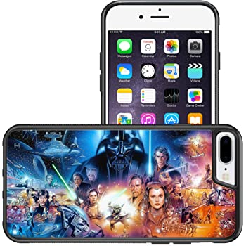 Amazon Com Iphone 7 8 Plus Casempire Star Wars Characters Tpu Case Shock Proof Never Fade Slim Fit Cover For Iphone 7 8 Plus Star Wars