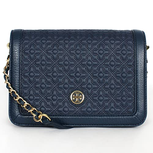 Tory Burch Bryant Ladies Small Quilted Combo Leather Crossbody Bag 18169684482