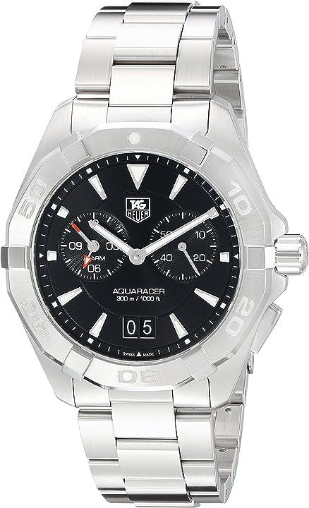 Orologio tag heuer men`s steel bracelet & case swiss quartz watch way111z.ba0928