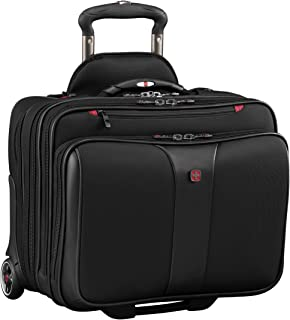 "Wenger Patriot Ii 2-piece 15.6"" Wheeled Business Set, Black (black) - 602685"