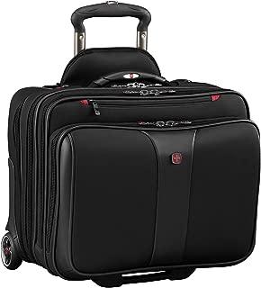 "Wenger Luggage Patriot Ii 2-Piece 15.6"" Wheeled Business Set Laptop Bag, Black, One Size"