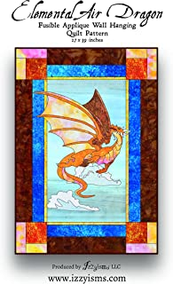 Quilt Pattern Elemental Air Dragon 27
