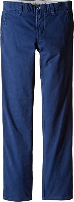 VISSLA Kids - High Tider Pants Slim Fit Stretch Twill 28
