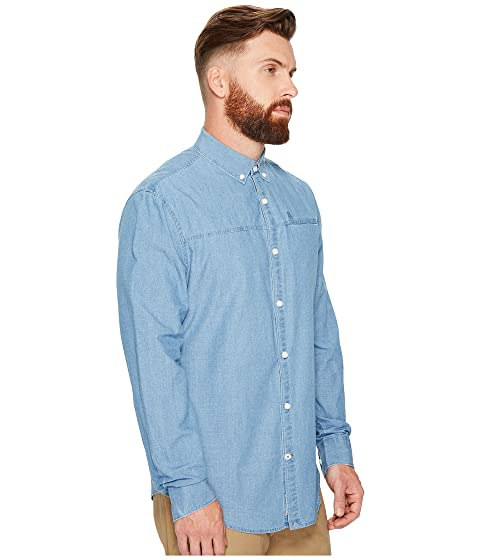 Long Shirt Sleeve Woven Indigo Original Washed Penguin gx5qwPZT1