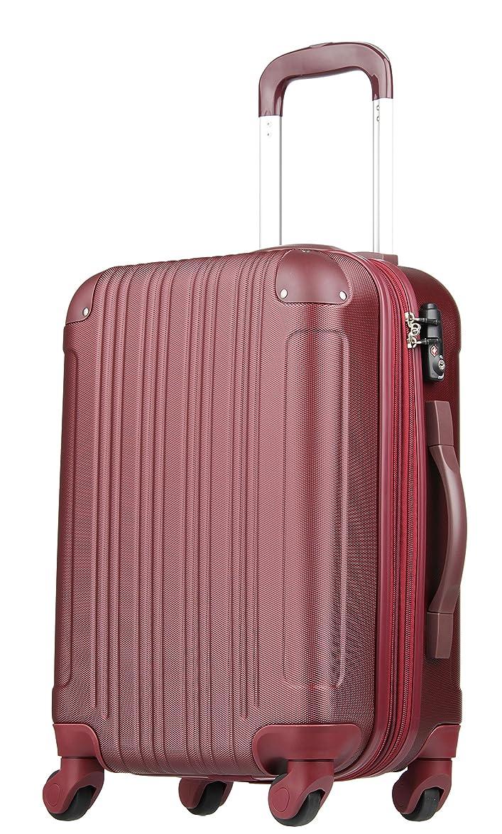 ランチ重要なアセンブリ拡張ジッパースーツケース TSAロック 47リットル