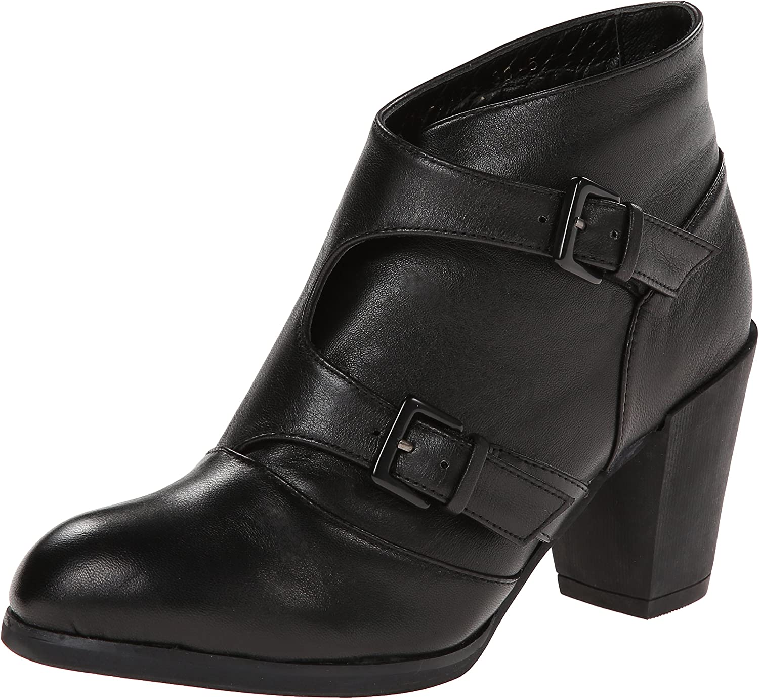 All Black Women's Twin Double Boot