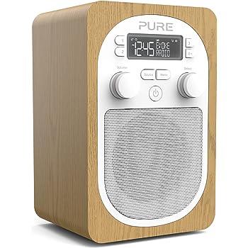 Radio DAB – Pure Evoke H2 – radio numérique portable DAB+FM – Prise casque – entrée auxiliaire – alarme – 20 présélections – minuteurs de cuisine et