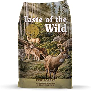 Taste of the Wild Pine Forest Canine Recipe with Venison and Legumes, 12.7 kg