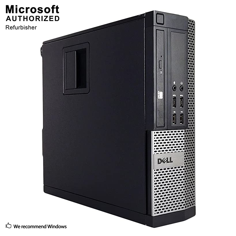 2019 Dell OptiPlex Business PC, Intel Core I5 3470, up to 3.6GHz, 16G DDR3, 512G SSD, VGA, DP, USB 3.0, WiFi, BT 4.0, DVDRW, Win10 64 Bit-Multi-Language(CI5)(Certified Refurbished)