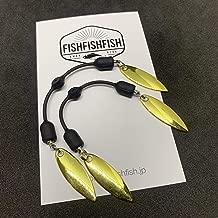 【FISHFISHFISH】ツインブレード ウィローブレード 2個セット