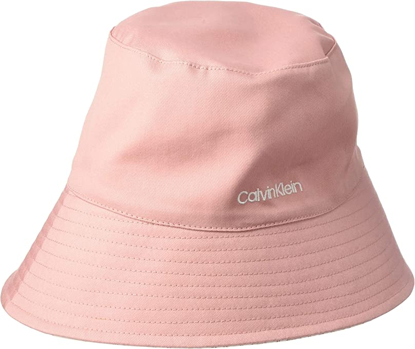 Calvin Klein Oversized Rev Bucket Hat Cappello a Falda Larga Donna