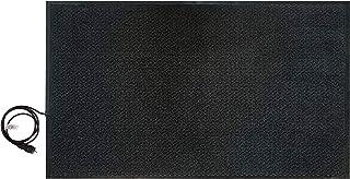 En rojo de calefacción sistemas, a prueba de alfombra calefactora 90 x 150 cm, 400 W, 70128