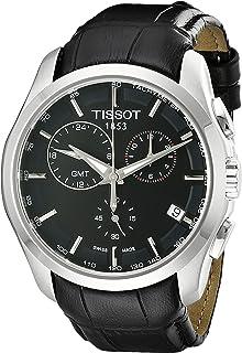 Men's T0354391605100 Analog Display Swiss Quartz Black Watch