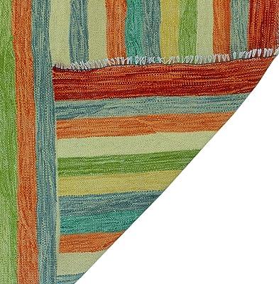 NOORI RUG Winchester Kilim Ngabile Grey/Rust Rug, 8'11 x 11'11
