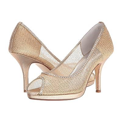 Caparros Future (Gold Metallic Mesh) High Heels