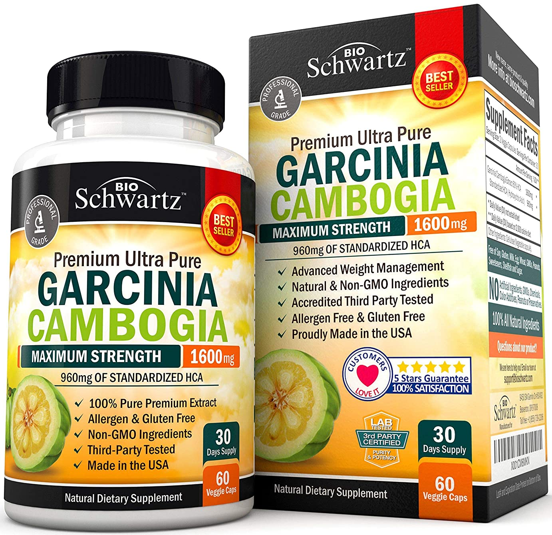 配管どれでも現代Garcinia Cambogia Pure Extract 1600mg  ガルシニアカンボジア