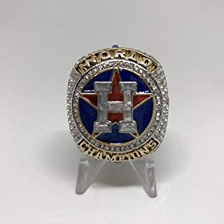 2017 Jose Altuve #27 Houston Astros HIGH QUALITY PREMIUM Replica 2017 World Series Championship Ring Size 14-Silver Color US SHIPPING
