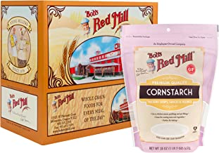 Bob's Red Mill Corn Starch, 18 Ounce (Pack of 4)