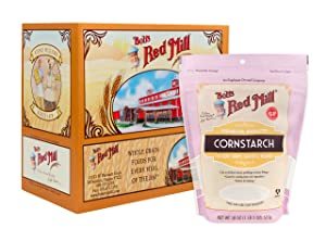Bob's Red Mill Corn Starch, 18-ounce (Pack of 4)