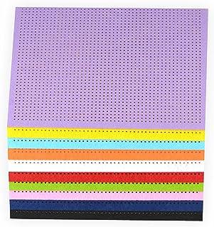 Stickfilz, 21x29,5cm, 10 Blatt farbig sortiert Bastelfilz