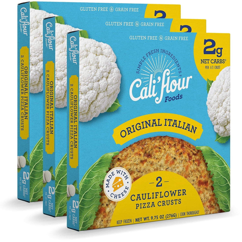 Cali'flour Foods Pizza Crust Original Boxes Italian Max 56% Fixed price for sale OFF 6 3