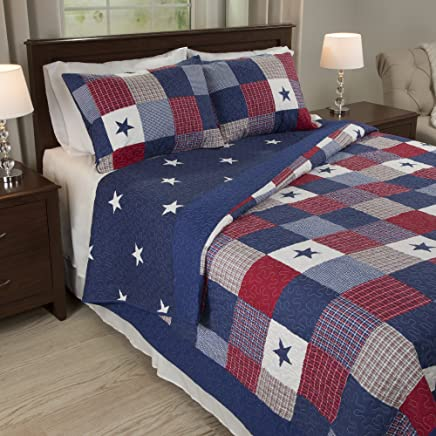 featured product Bedford Home Caroline 3 Piece Quilt Set - Full/Queen