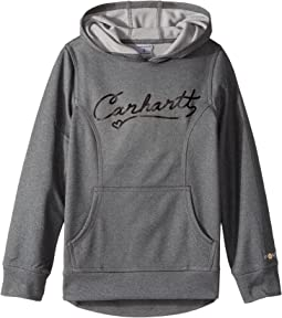 Carhartt Kids - Force Script Heather Sweatshirt (Big Kids)