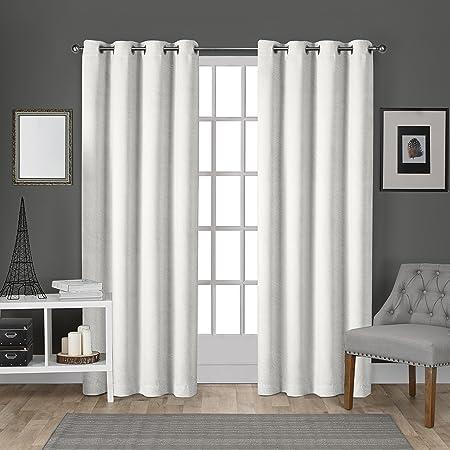 "Fuchsia 84/""H Velvet Curtain Panel w//Grommet Top Eyelets Window Treatment Drapes"