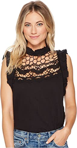 Simply Smiles Crochet Top