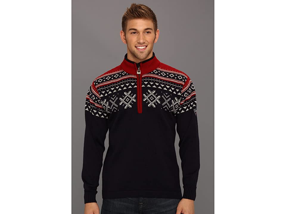 Dale of Norway Dovre (C-Navy/Light Charcoal/Red Rose) Men