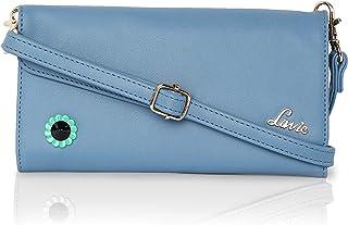 Lavie Women's 3 fold Wallet with Sling
