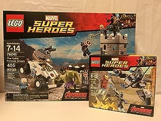 Super-Heroes Lego The Hydra Fortress Smash & Lego Iron Man Vs. Ultron