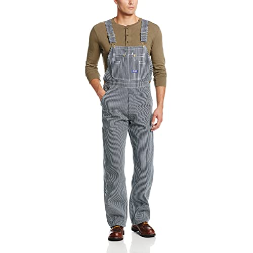 32b3b4673fe Walls Mens Big Smith Relaxed Zip-Fly Bib Overalls