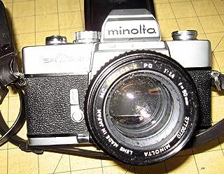 MINOLTA SRT-202 SLR CAMERA--ROKKOR -X 1:14 F=50mm LENS