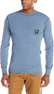Helly Hansen Work Shirt Mens L/S Base Layer Fargo FR Crewneck 75090