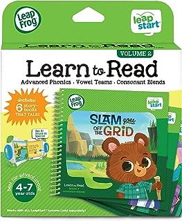 LeapFrog 489803 Leapstart Advanced Learn to Read Pack (6 Story Books That Talk), Multi