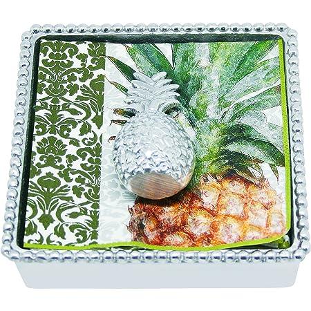 MARIPOSA Pineapple Napkin Weight Silver